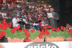 Maestro Bora Dugic, speech