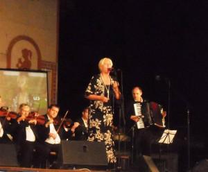 Merima Njegomir, famous Serbian singer