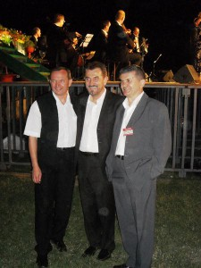 Zoltan Dani, Maestro Dugic and Zoran Rajicic
